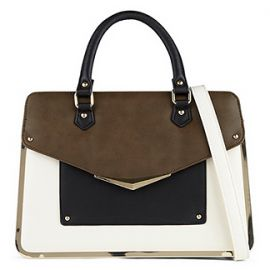 Banstraw Satchel in Brown at Aldo