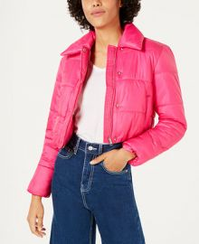 Bar III Cropped Puffer Jacket  Created for Macy s Women -  Jackets   Blazers - Macy s at Macys