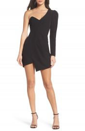 Bardot Anja One-Shoulder Sheath Dress at Nordstrom