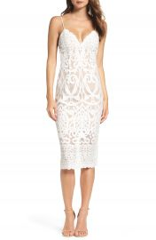 Bardot Gia Lace Pencil Dress at Nordstrom