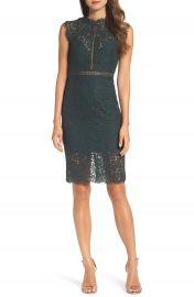 Bardot Lace Sheath Dress at Nordstrom