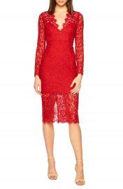 Bardot Midnights Lace Dress at Nordstrom