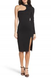 Bardot Nikki One-Shoulder Body-Con Dress at Nordstrom