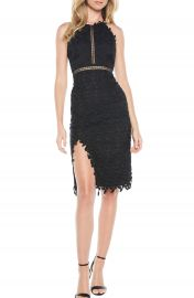 Bardot Tabytha Lace Halter Dress at Nordstrom