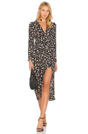 Bardot floral split dress at Revolve