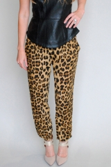 Bardot leopard pants at Shoptiques