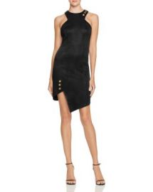 Bariano Asymmetrical Grommet Studded Dress at Bloomingdales