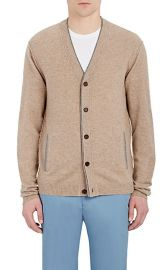 Barneys New York Cashmere V-Neck Cardigan at Barneys