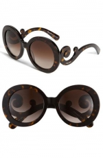 Baroque sunglasses by Prada at Nordstrom