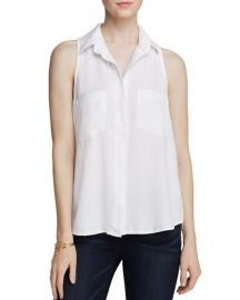 Basic Button-Down Top Bella Dahl at Bloomingdales