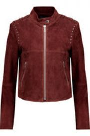 Bavewick SM Wilmore studded suede jacket at The Outnet