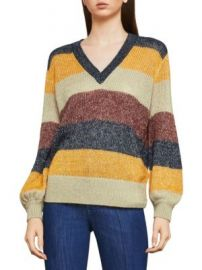 Bcbgamaxazria striped sweater at Saks Off 5th