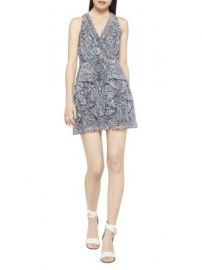 Bcbgeneration Paisley Fit-&-Flare Halter Dress at Saks Off 5th
