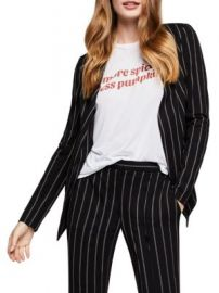 Bcbgeneration Striped Tuxedo Jacket at Saks Off 5th