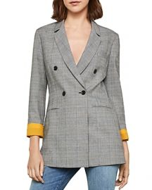Bcbgmaxazria Glen Plaid Double Breasted Blazer at Bloomingdales