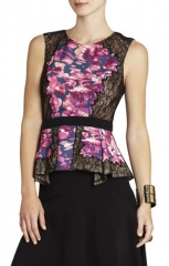 Bcbgmaxazria kaylan top at Bcbgmaxazria