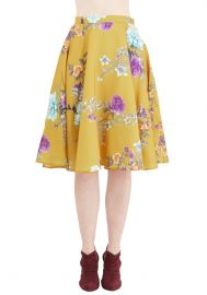 Bea and Dot Ikebana for All Skirt in Floral at ModCloth
