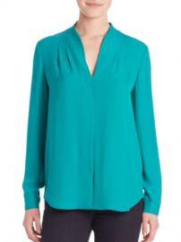 Bea blouse by Elie Tahari at Bloomingdales