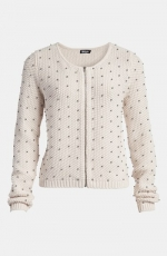 Beaded bomber sweater by Tildon at Nordstrom at Nordstrom