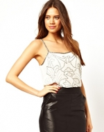 Beaded cami at ASOS at Asos