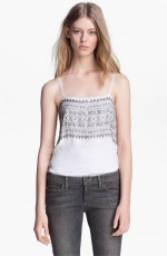 Beaded cami by L Agence at Nordstrom