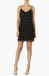 Beaded dress by Topshop at Nordstrom