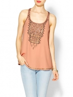 Beaded tank by Sabine at Piperlime