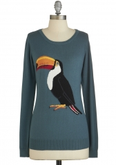 Beak Your Mind Sweater at ModCloth