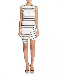 Bec and Bridge - Jedi Striped Asymmetrical Mini Dress at Saks Fifth Avenue