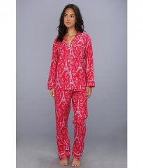 BedHead Classic Flannel PJ Set Rouge Eiffel Tower at Zappos