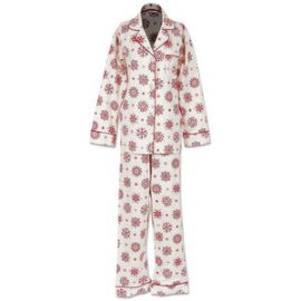 BedHead Pajamas Womenand39s Madame Bovary Classic Pajama  in Snowflakes at Amazon