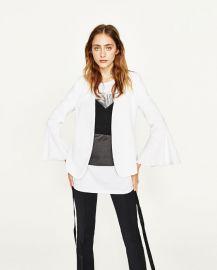 Bell Sleeve Jacket at Zara
