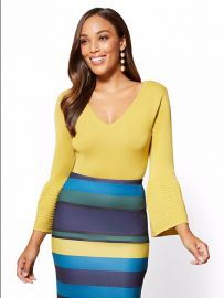 Bell Sleeve Sweater by New York Company  7th Avenue at NY&C