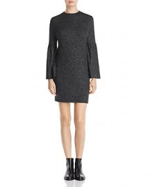Bell sleeve dress by B Collection at Bloomingdales