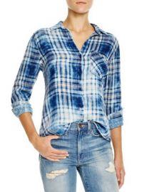 Bella Dahl Plaid Button-Down Shirt at Bloomingdales