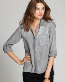 Bella Dahl Shirt - Denim Button Down at Bloomingdales