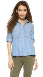 Bella Dahl Split Back Button Down Shirt at Shopbop