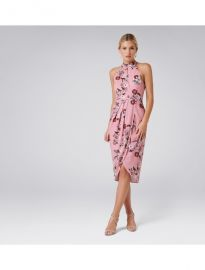 Bella Printed Drape Dress by Forever New at Forever New