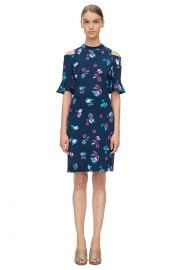 Bellflower Print Dress at Rebecca Taylor