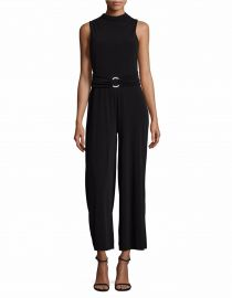 Belted Jumpsuit by MICHAEL Michael Kors at Lord & Taylor