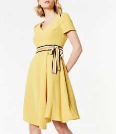 Belted Midi Dress by Karen Millen at Karen Millen