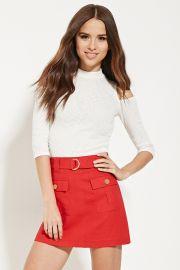 Belted Mini Skirt   Forever 21 - 2000169236 at Forever 21
