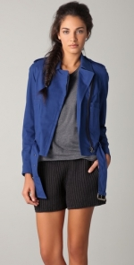 Belted biker pea coat from Phillip Lim at Shopbop at Shopbop
