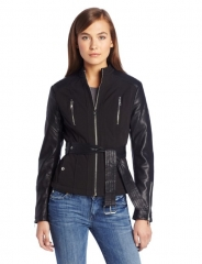 Belted jacket by Buffalo by David Bitton at Amazon