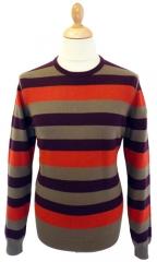 Ben Sherman Stripe Sweater at Atom Retro
