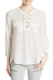 Bertine Silk Blouse by Joie at Nordstrom Rack