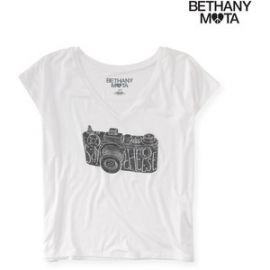 Bethany Mota Camera Tee at Aeropostale