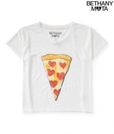 Bethany Mota Pizza Tee at Aeropostale