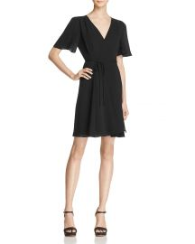 Betsey Johnson Crepe Wrap Dress at Bloomingdales