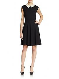 Betsey Johnson Pearl Collar Dress at Saks Off 5th
